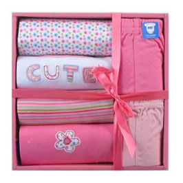 6 piece layette set