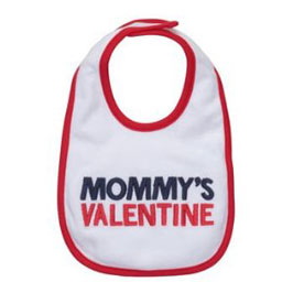 Carter's Dribble Happy Bib - Mommy's Valentine